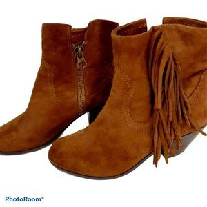 Sam Edelman Louie soft suede leather ankle boots